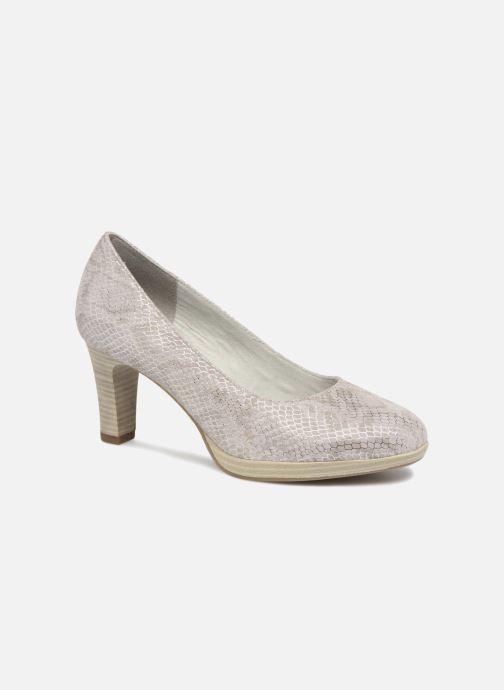 High heels Tamaris Fuchsia Silver detailed view/ Pair view