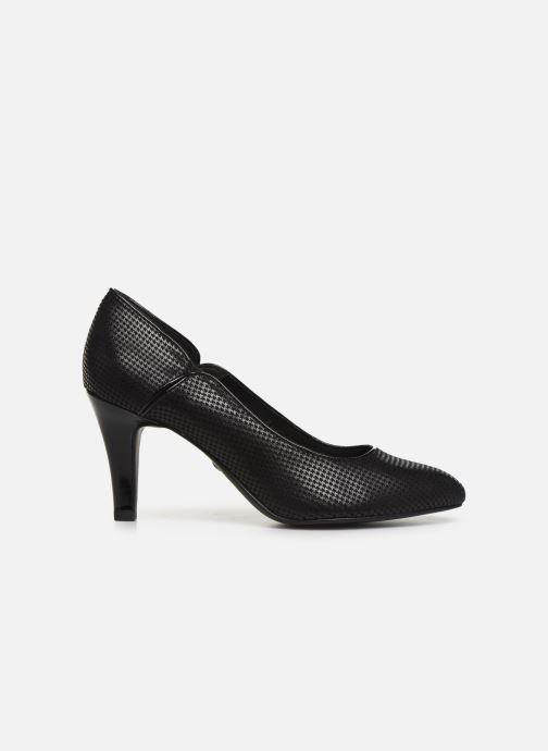 Zapatos de tacón Tamaris Fuchsia Negro vistra trasera