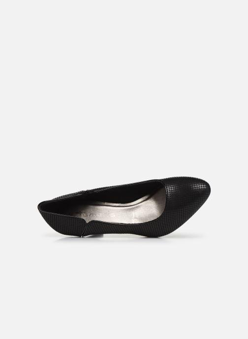 Zapatos de tacón Tamaris Fuchsia Negro vista lateral izquierda