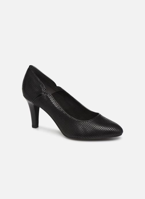 Zapatos de tacón Tamaris Fuchsia Negro vista de detalle / par