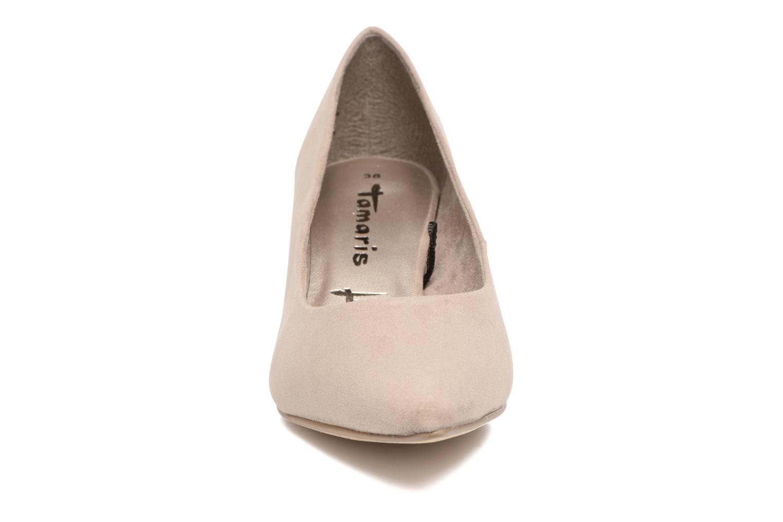 Escarpins Tamaris Glaieul Beige vue portées chaussures
