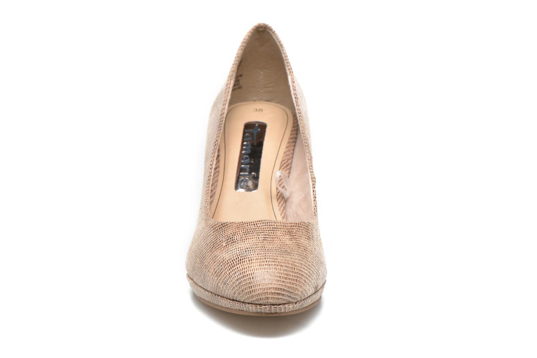 High heels Tamaris Hellébore Beige model view