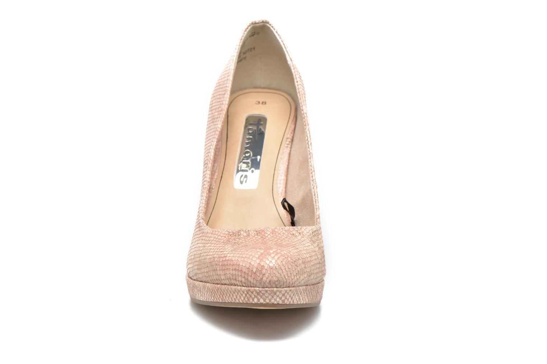 Escarpins Tamaris Jacinthe Rose vue portées chaussures
