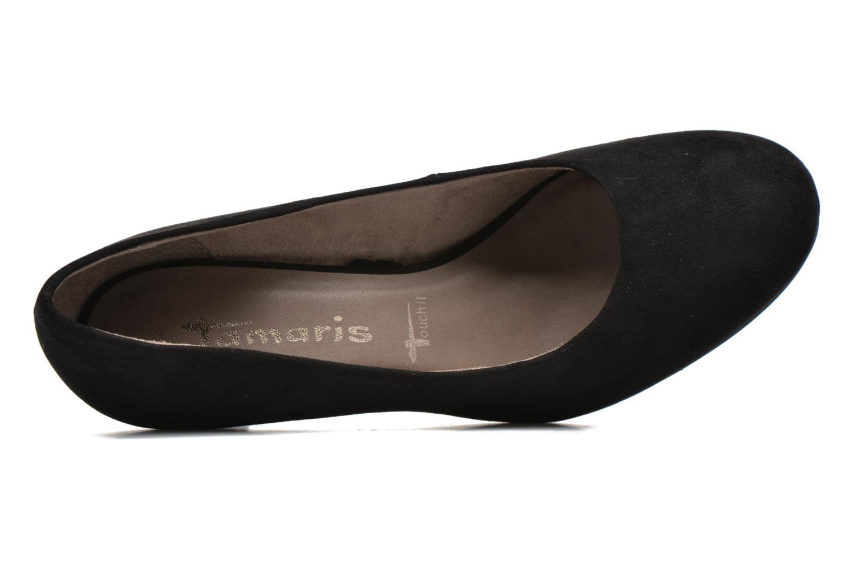 Zapatos de tacón Tamaris Jasmin Negro vista lateral izquierda