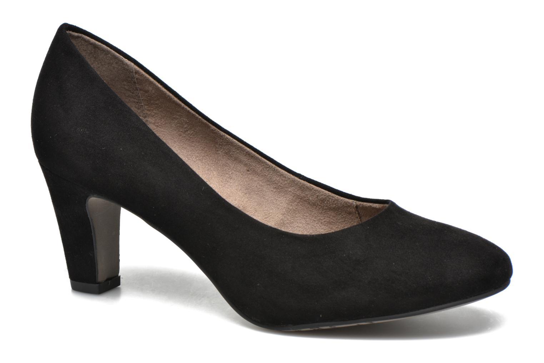 High heels Tamaris Jasmin Black detailed view/ Pair view