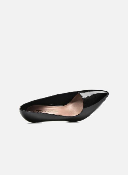Zapatos de tacón Tamaris Kaly Negro vista lateral izquierda