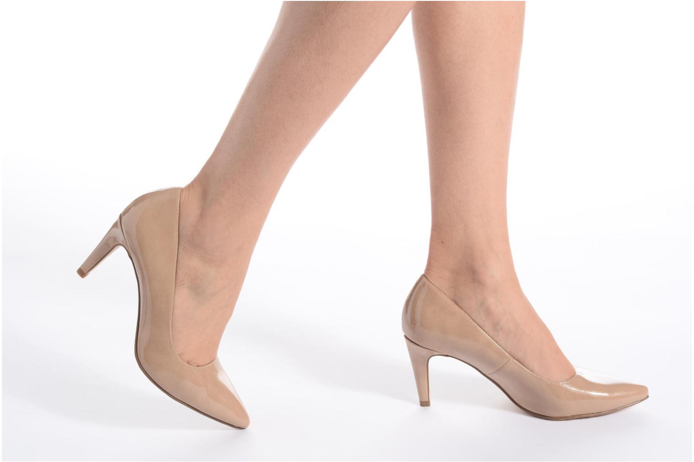 High heels Tamaris Kaly Black view from underneath / model view