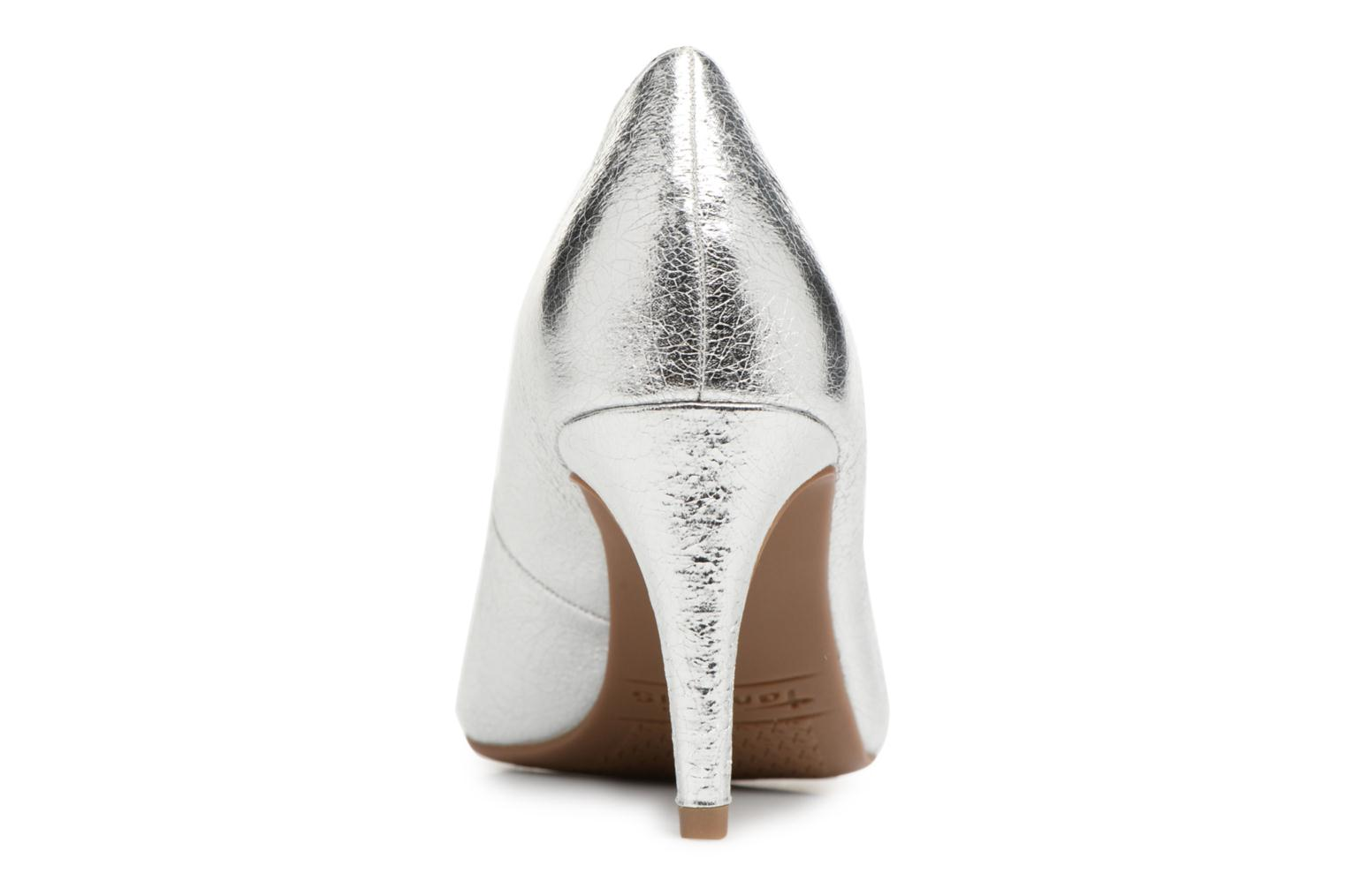 High heels Tamaris Kaly Silver view from the right