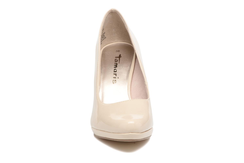 Høje hæle Tamaris Celia Beige se skoene på