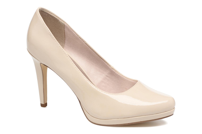 High heels Tamaris Celia Beige detailed view/ Pair view