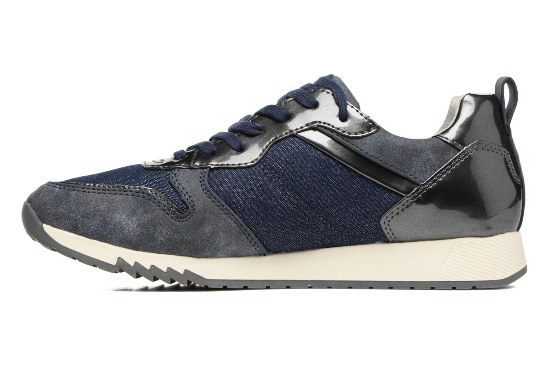 Sneaker Tamaris Mimosa blau ansicht von vorne