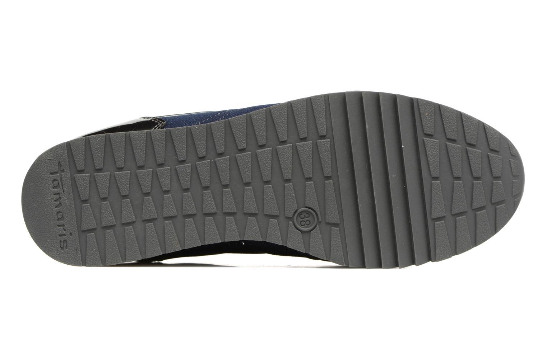 Sneaker Tamaris Mimosa blau ansicht von oben