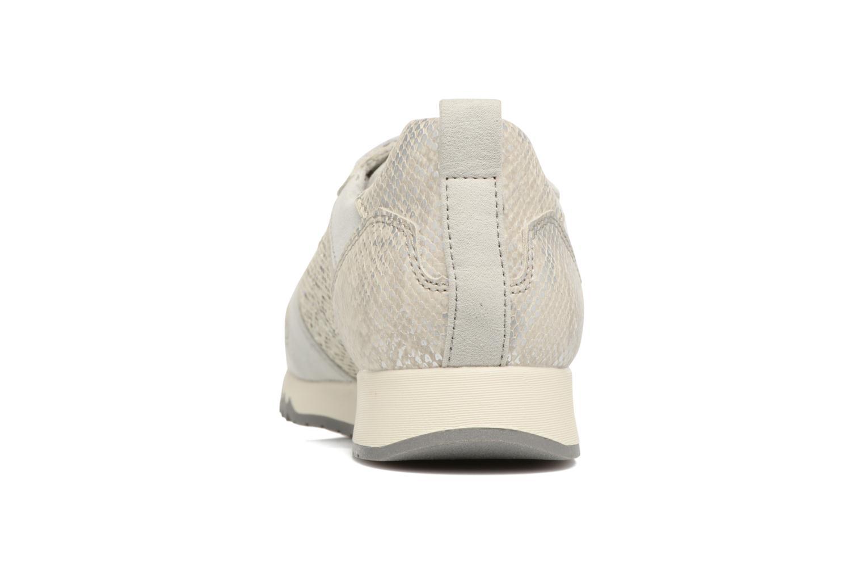 Sneaker Tamaris Mimosa silber ansicht von rechts