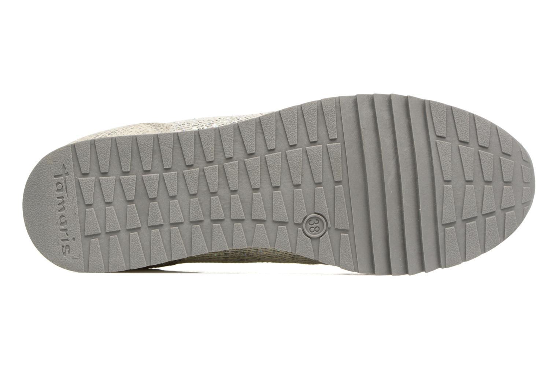 Sneaker Tamaris Mimosa silber ansicht von oben