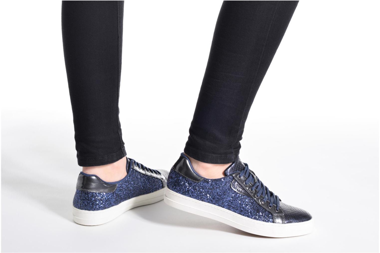 Sneaker Tamaris Narcisse blau ansicht von unten / tasche getragen