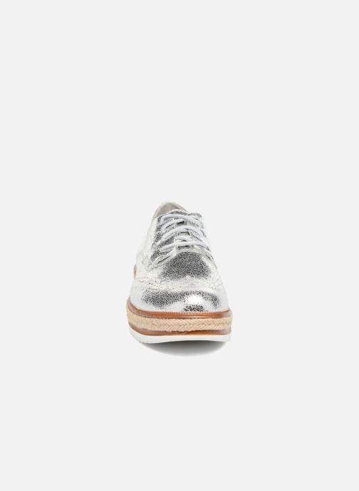 Chaussures à lacets Tamaris Pensée Argent vue portées chaussures