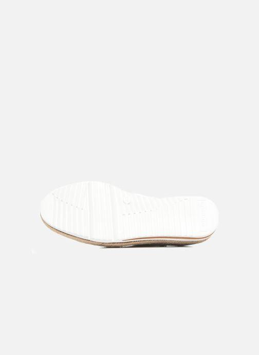 Zapatos con cordones Tamaris Pensée Plateado vista de arriba
