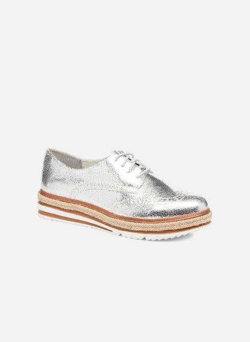 Chaussures à lacets Tamaris Pensée Argent vue détail/paire