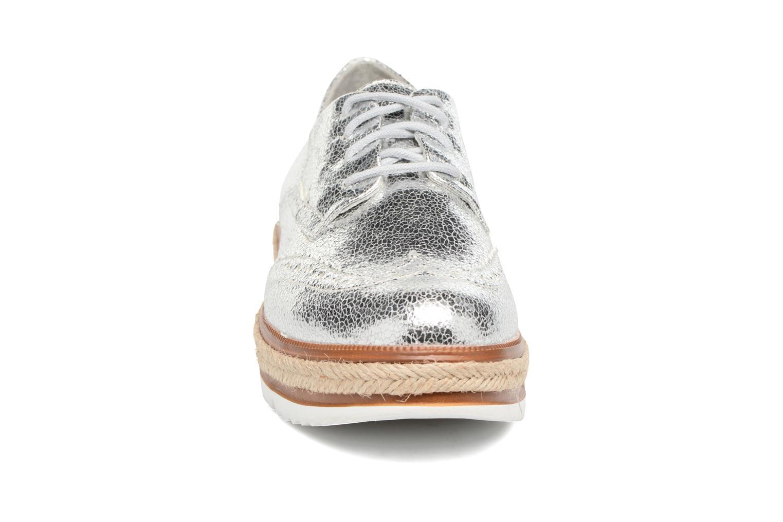 Lace-up shoes Tamaris Pensée Silver model view
