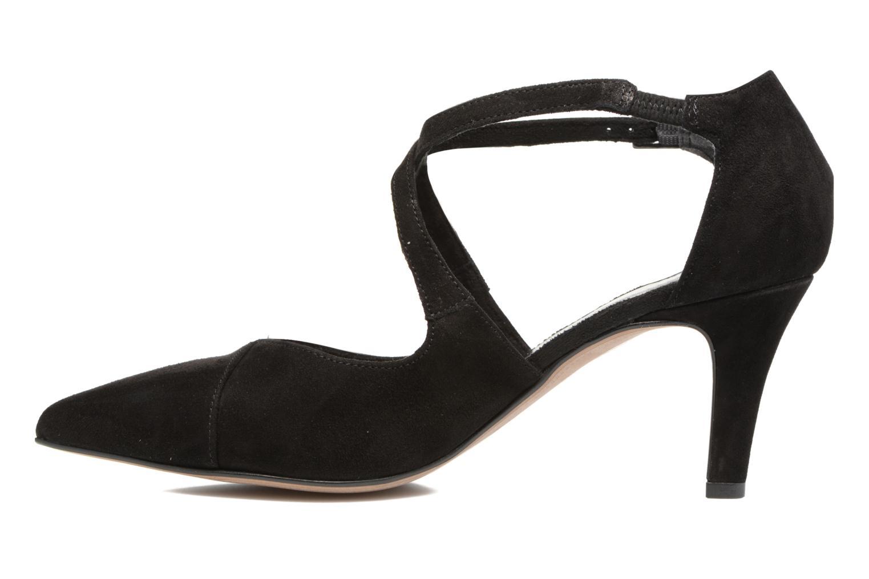 Zapatos de tacón Tamaris Volubilis Negro vista de frente