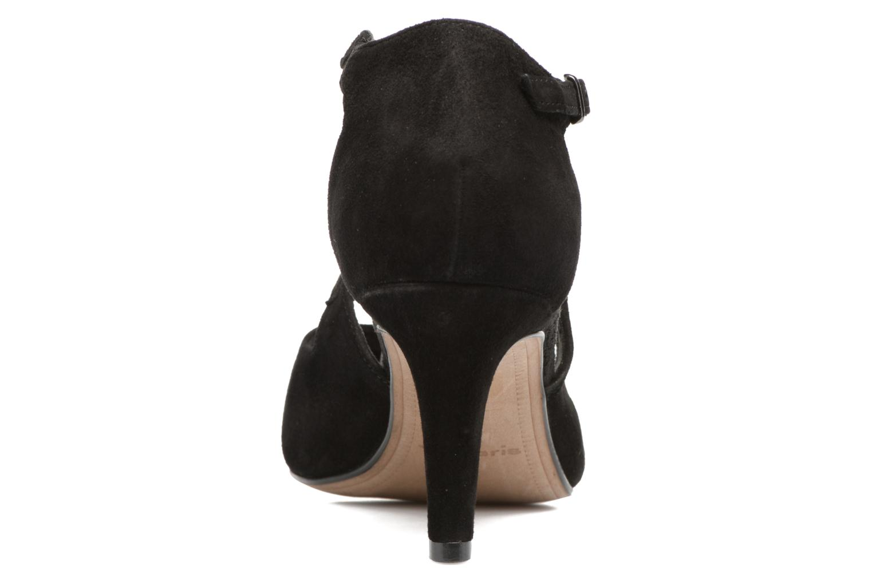 Zapatos de tacón Tamaris Volubilis Negro vista lateral derecha