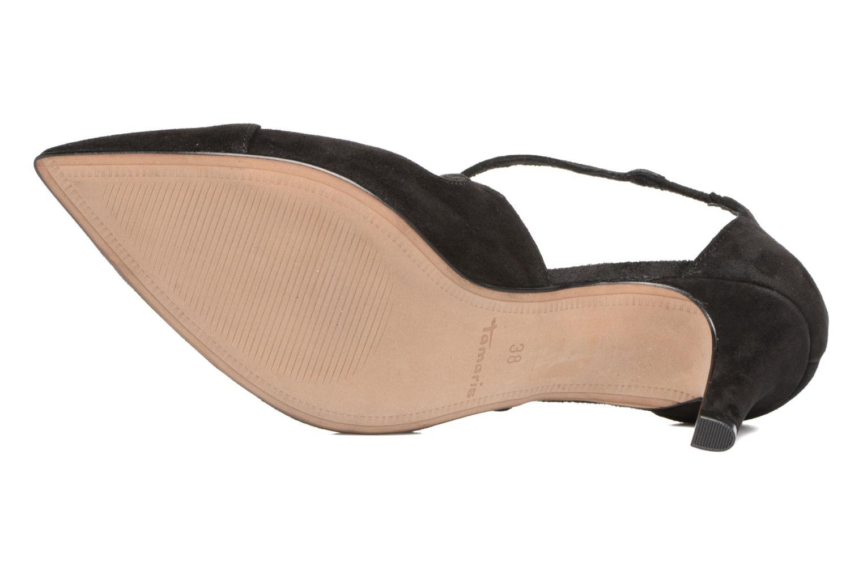 Zapatos de tacón Tamaris Volubilis Negro vista de arriba