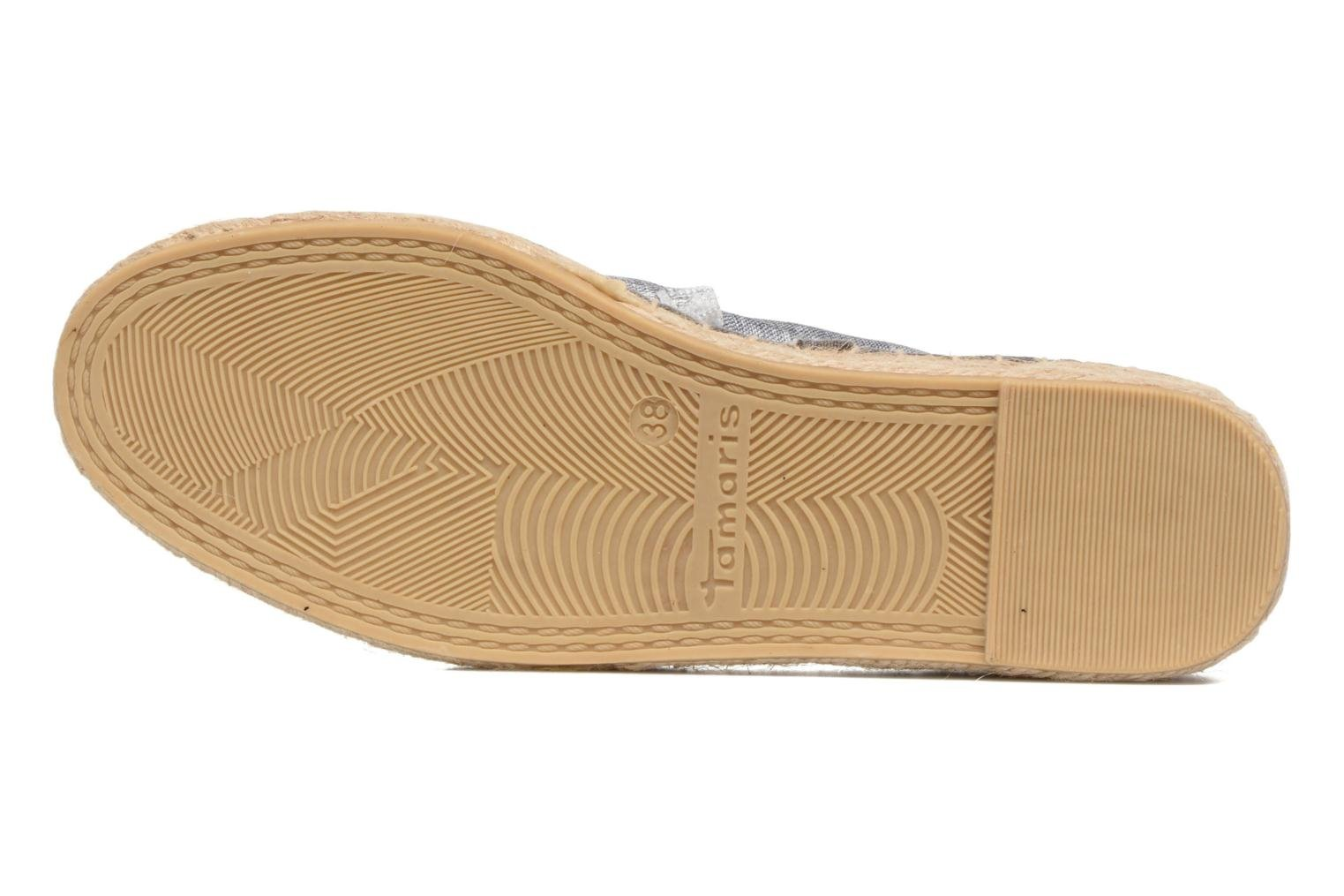 Espadrilles Tamaris Yucca Blue view from above