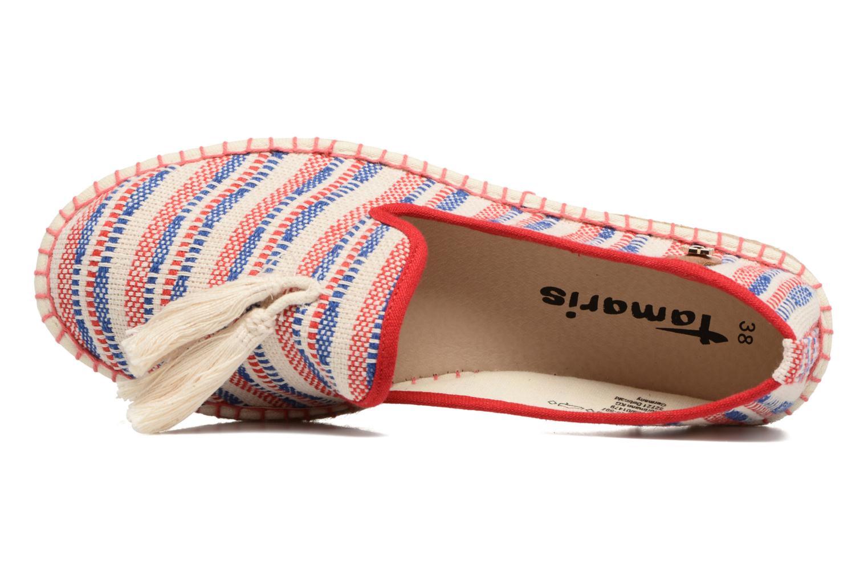 Espadrilles Tamaris Zinnia Multicolore vue gauche