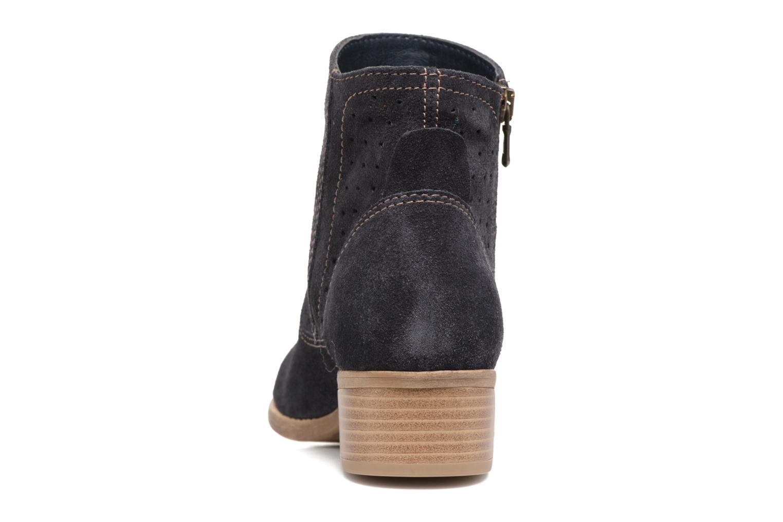 Bottines et boots Tamaris Cirse Bleu vue droite