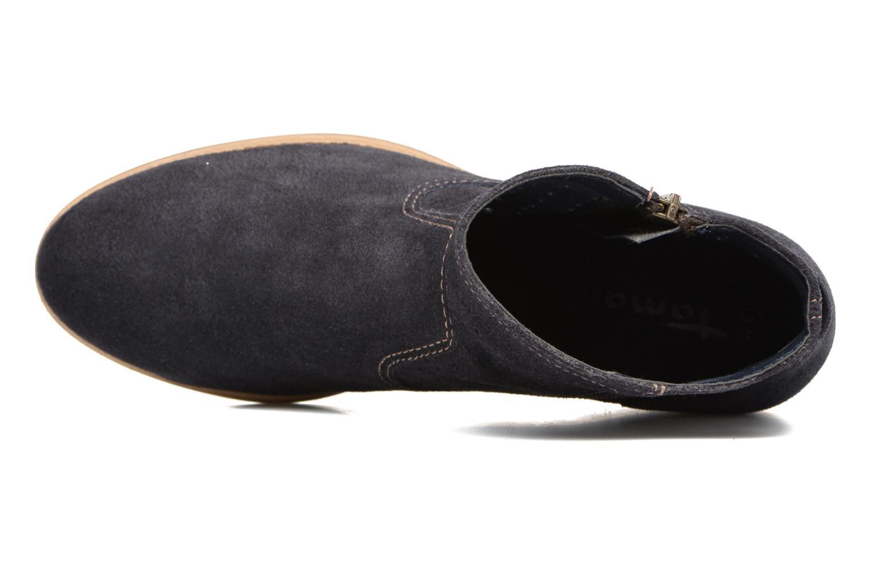 Bottines et boots Tamaris Cirse Bleu vue gauche