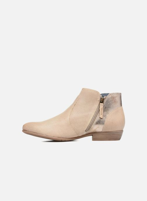 Tamaris Esparcette (Beige) Bottines et boots chez Sarenza