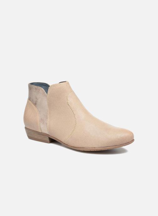 Bottines Et Tamaris beige Boots Sarenza Chez 281847 Esparcette Etqq7xrwng