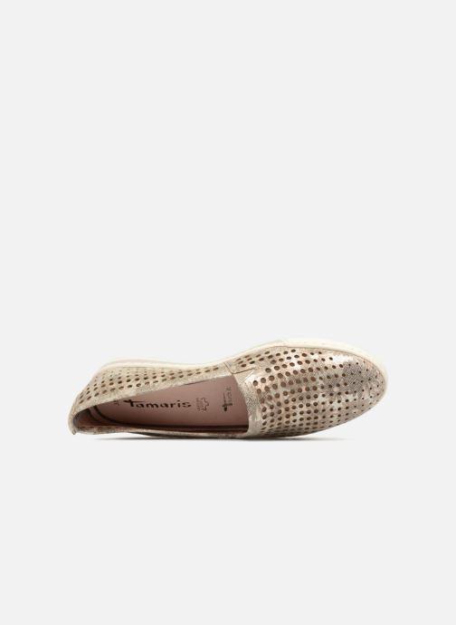pieds Et Mélisse Combin Tamaris Taupe Sandales Nu Y6gbfy7