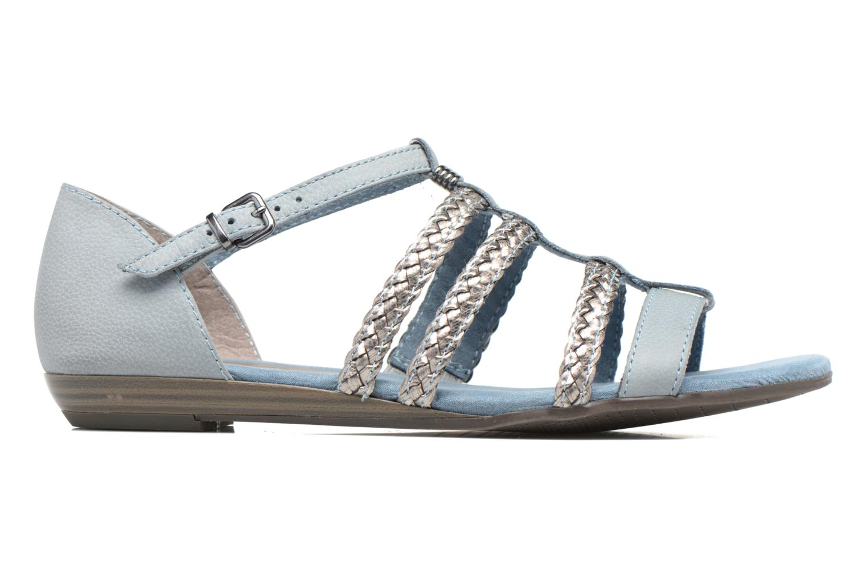 Sandales et nu-pieds Tamaris Muscari Bleu vue derrière
