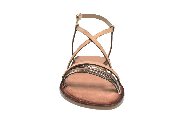 Sandales et nu-pieds Tamaris Cabaret Marron vue portées chaussures