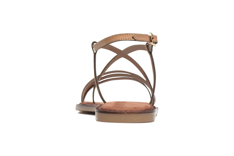 Sandales et nu-pieds Tamaris Cabaret Marron vue droite