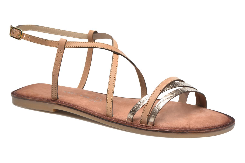 Sandales et nu-pieds Tamaris Cabaret Marron vue détail/paire