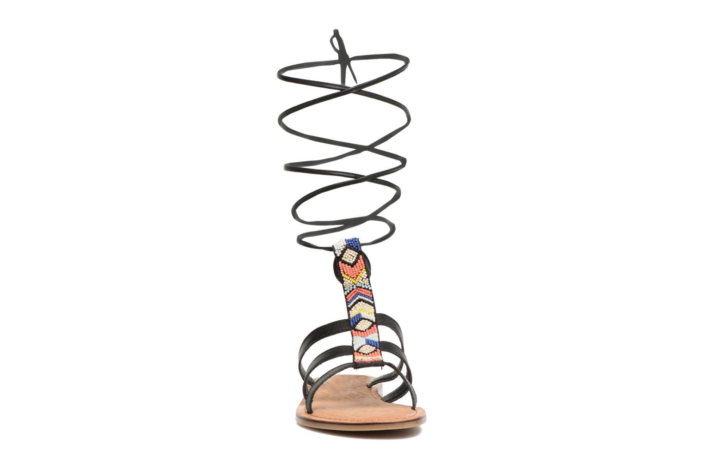 Sandales et nu-pieds Tamaris Réséda Noir vue portées chaussures