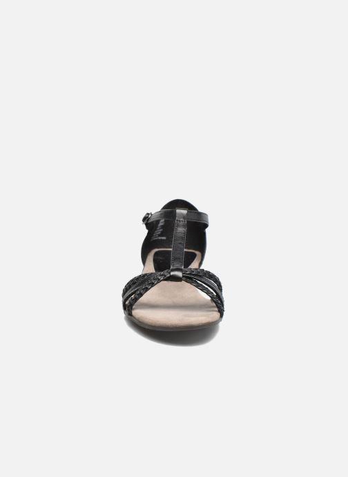 Sandales et nu-pieds Tamaris Carthame Noir vue portées chaussures