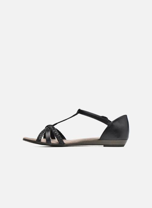 Sandales et nu-pieds Tamaris Carthame Noir vue face