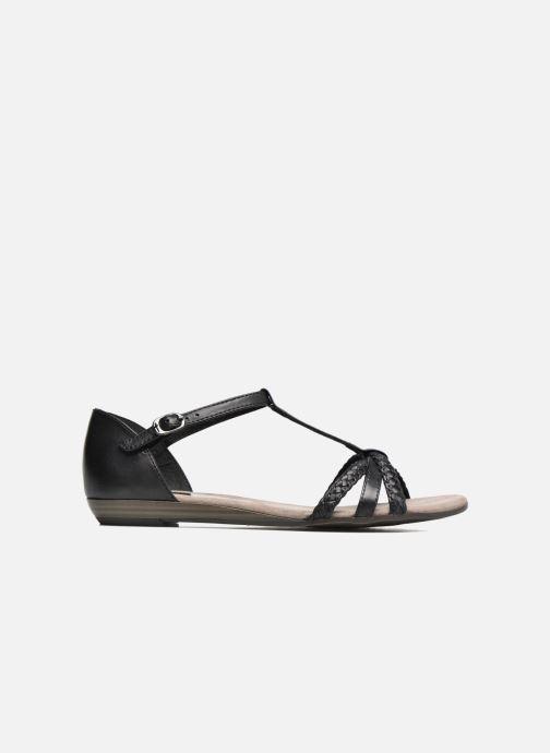 Sandales et nu-pieds Tamaris Carthame Noir vue derrière