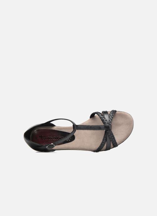 Sandales et nu-pieds Tamaris Carthame Noir vue gauche