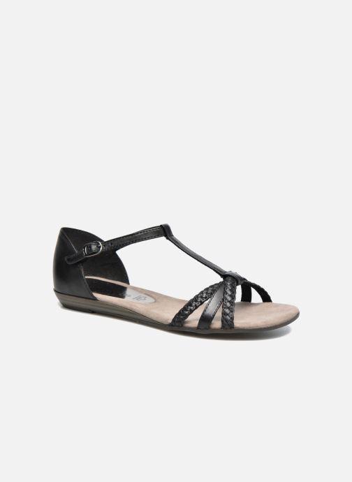 Tamaris Carthame (Noir) Sandales et nu pieds chez Sarenza