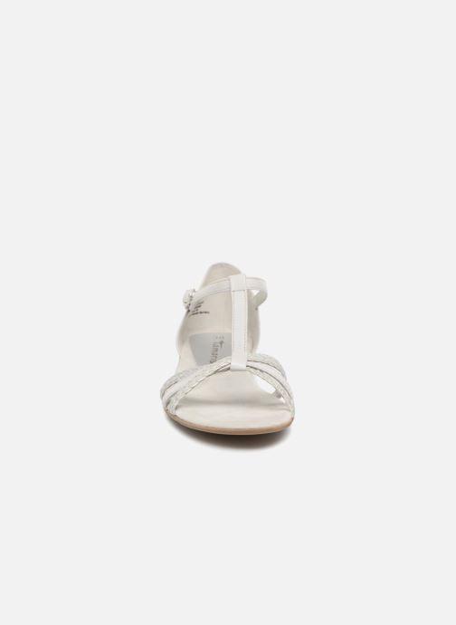 Sandales et nu-pieds Tamaris Carthame Gris vue portées chaussures