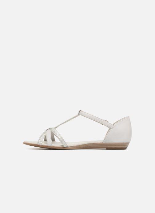 Sandales et nu-pieds Tamaris Carthame Gris vue face