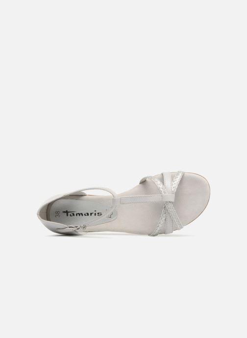 Sandales et nu-pieds Tamaris Carthame Gris vue gauche