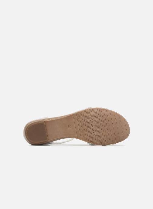Sandales et nu-pieds Tamaris Carthame Gris vue haut