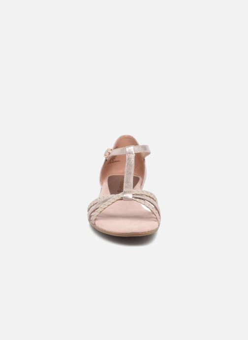 Sandales et nu-pieds Tamaris Carthame Rose vue portées chaussures