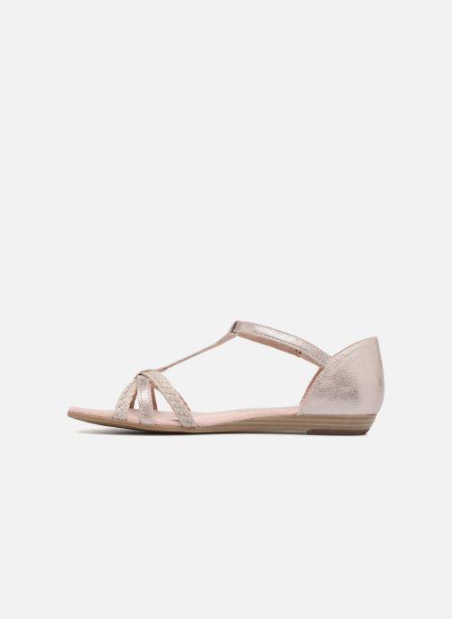 Sandales et nu-pieds Tamaris Carthame Rose vue face
