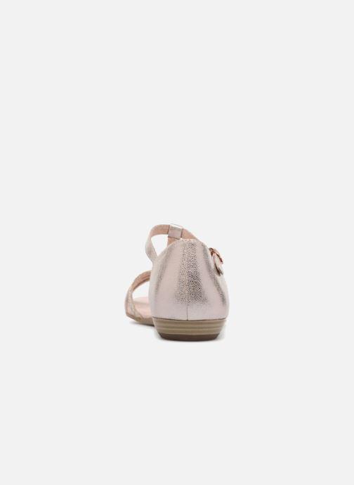 Sandales et nu-pieds Tamaris Carthame Rose vue droite